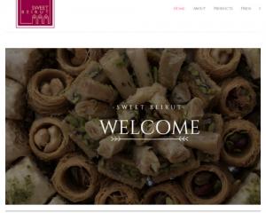 Portfolio: Sweet Beirut website
